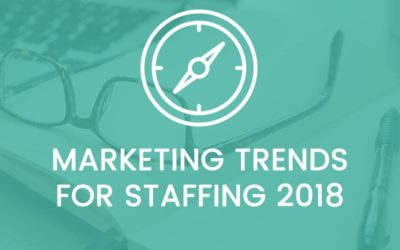 Marketing Trends for Staffing in 2018